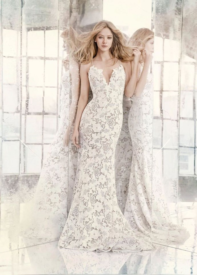 <p>LIBRA<p> <p> You and bridal are a match made in the stars, seriously. You love anything that's ultra-feminine and beautiful, which means there are so many options available to you when it comes to wedding dresses. Flowers and delicate lace abound in this arena, and that's what you'll gravitate toward.