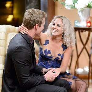 Nikki Gogan and Richie Strahan on The Bachelor