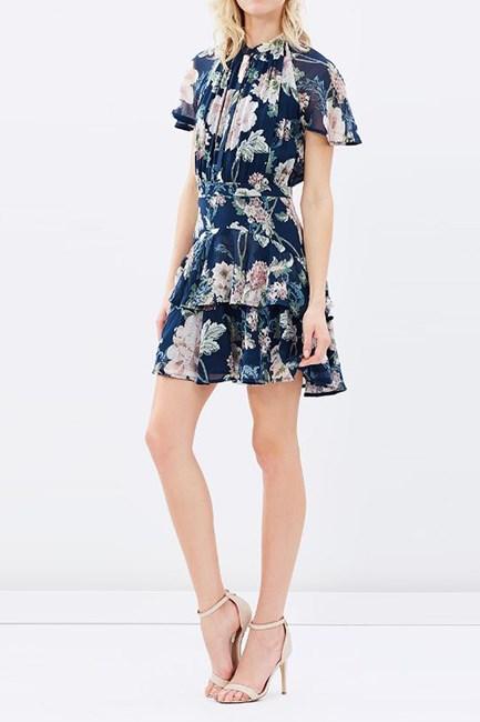 "Aurora Devoré Silk-Chiffon Dress, $2,097, <a href=""https://www.net-a-porter.com/au/en/product/720254/preen_by_thornton_bregazzi/aurora-devore-silk-chiffon-dress"" target=""_blank"">Preen by Thornton Bregazzi at net-a-porter.com</a>."
