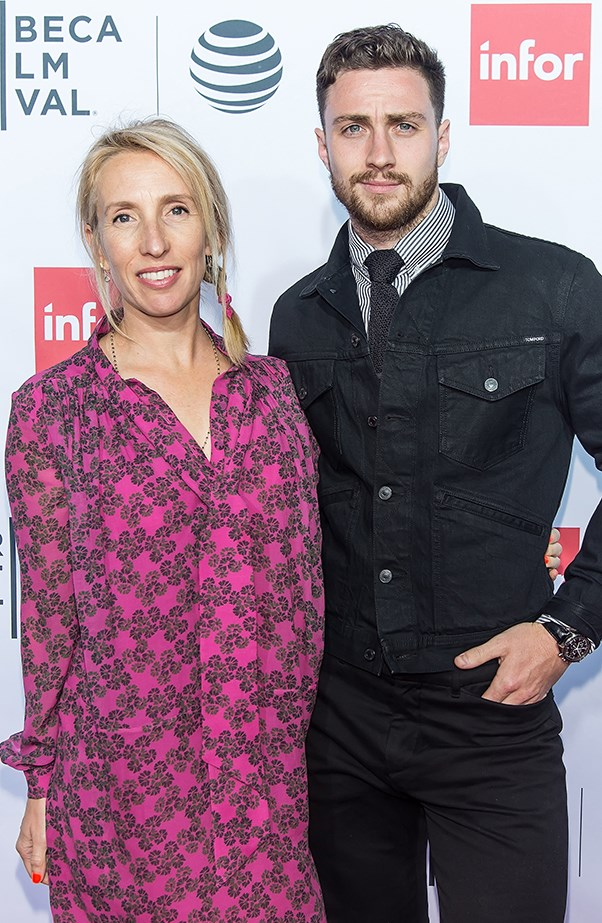 <p><strong>Sam Taylor-Wood and Aaron Taylor-Johnson</strong> <p>Sam and Aaron's relationship got off to a controversial start because he was only 19 and she was 42 when they met on the set of <em>Nowhere Boy</em>. Aaron married the <em>Fifty Shades of Grey</em> director in June 2012 and they have two daughters together.