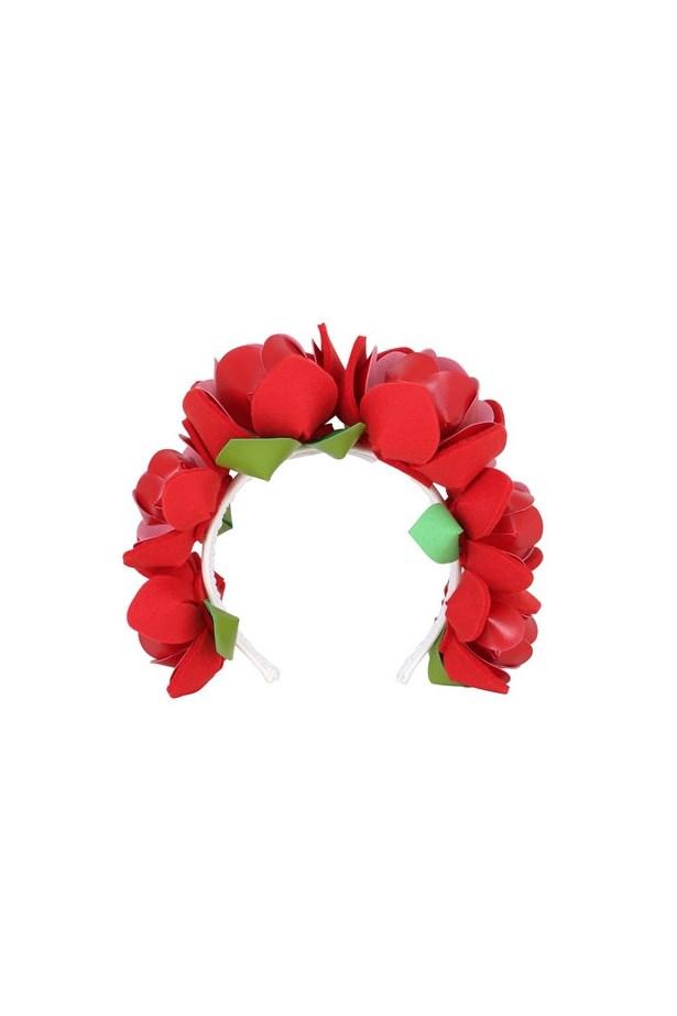 "Headband, $425, <a href=""http://www.luisaviaroma.com/francesco+ballestrazzi/women/hair+accessories/64I-07C006/lang_EN/colorid_UkVE0?SubLine=accessories&CategoryId=111"">Francesco Ballestrazzi at luisaviaroma.com</a>."