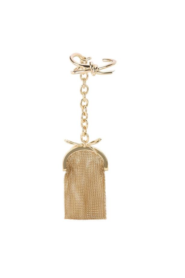 "Bracelet clutch,  $3,850, <a href=""http://www.mytheresa.com/en-au/bow-bracelet-pouch-576963.html?catref=category"">Balenciaga at mytheresa.com</a>."