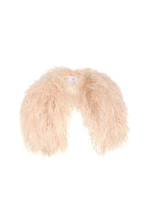 "Feather jacket, $1,191, <a href=""https://www.theoutnet.com/en-US/product/Finds/Feather-jacket/521168"">Finds at theoutnet.com</a>."