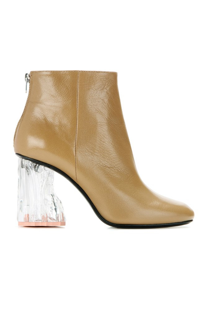 "<a href=""http://www.mytheresa.com/en-au/ora-glass-embellished-leather-ankle-boots-613161.html"">Boots, $1100, Acne Studios at mytheresa.com</a>"