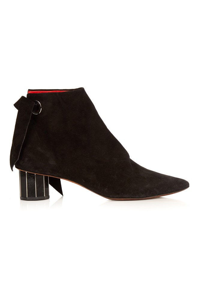 "<a href=""http://www.matchesfashion.com/au/products/Proenza-Schouler-Faceted-heel-suede-ankle-boots-1052297"">Boots, $1196, Proenza Schouler at matchesfashion.com</a>"