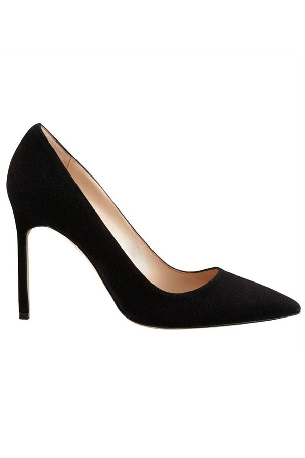"<strong>Classic Pointed Pumps</strong> <br><br> Manolo Blahnik pumps, $826.48, <a href=""http://www.neimanmarcus.com/en-au/Manolo-Blahnik-BB-Suede-105mm-Pump/prod193490239/p.prod?icid=&searchType=MAIN&rte=%2Fsearch.jsp%3Ffrom%3DbrSearch%26request_type%3Dsearch%26search_type%3Dkeyword%26q%3Dmanolo+blahnik+pumps&eItemId=prod193490239&cmCat=search&tc=60&currentItemCount=11&q=manolo+blahnik+pumps&searchURL=/search.jsp%3Ffrom%3DbrSearch%26start%3D0%26rows%3D30%26q%3Dmanolo+blahnik+pumps%26l%3Dmanolo+blahnik+pumps%26request_type%3Dsearch%26search_type%3Dkeyword&childItemId=NMX3DNL_&ecid=NMAF__TnL5HPStwNw&CS_003=5630585"">neimanmarcus.com</a>."