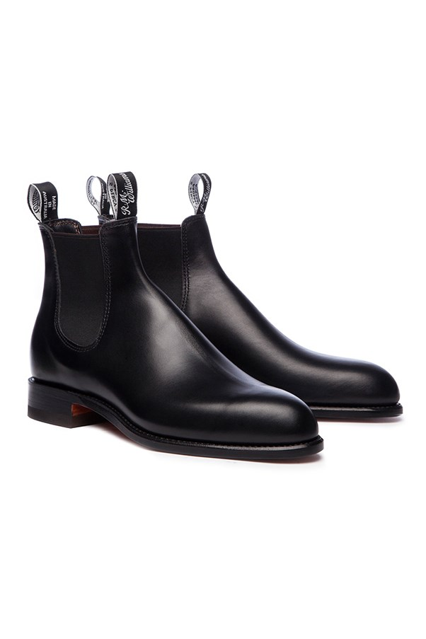 "<strong>The Everyday Boot</strong> <br><br> R.M.Williams, $495, <a href=""http://www.rmwilliams.com.au/classic-turnout/Classic_Turnout.html?dwvar_Classic__Turnout_color=02#start=1"">rmwilliams.com.au</a>"