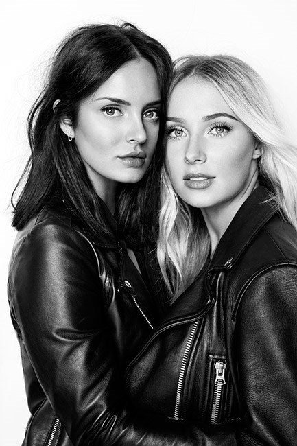 Chloe Morello and Lauren Curtis.