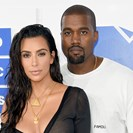 Kim Kardashian Is Wearing A Completely Sheer Mini Dress At The VMAs image