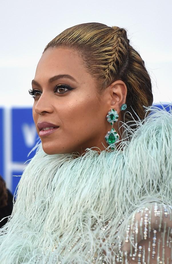 Beyonce Braids at 2016 MTV VMAs