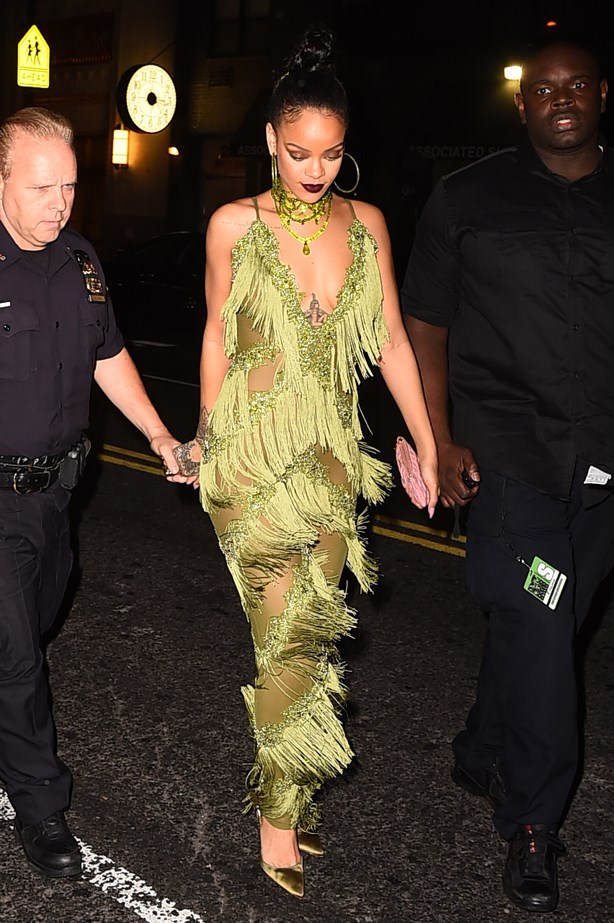 Rihanna VMAs after party.