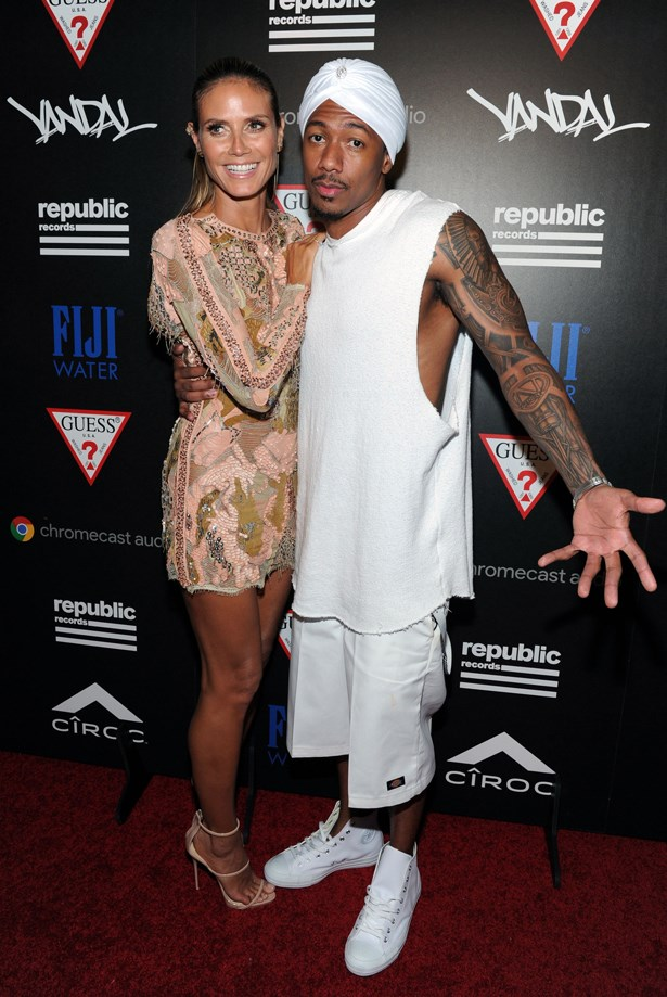 Heidi Klum and Nick Cannon.