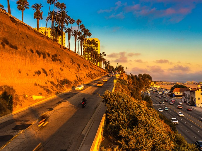 <strong>Pacific Coast Highway.</strong> <br><br>Head north on Highway 1 from San Diego to San Francisco for a hip as road trip. Live out all your <em>Thelma & Louise</em> fantasies (sans tragic ending, naturally) and soak up all that Cali cool: Huntington Beach, LA, The Neptune Pool at Hearst Castle, Big Sur, Santa Cruz, San Fran. Road trip track: <em>California Gurls</em>. Of course.