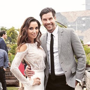 Snezana Markoski and Sam Wood The Bachelor