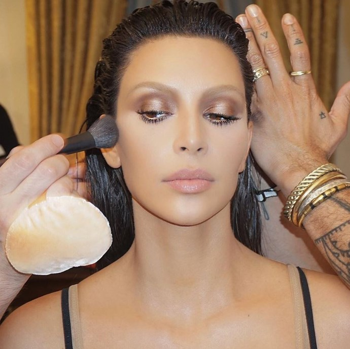 """<p><strong>Mario Dedivanovic</strong> <p>You may recognise Mario from Kim Kardashian's Instagram feed. He was responsible for her sexy, fresh, almost no-makeup look at the 2016 MTV VMAs. <p><a href=""""https://www.instagram.com/makeupbymario/"""" target=""""_blank"""">Instagram.com/makeupbymario</a>"""