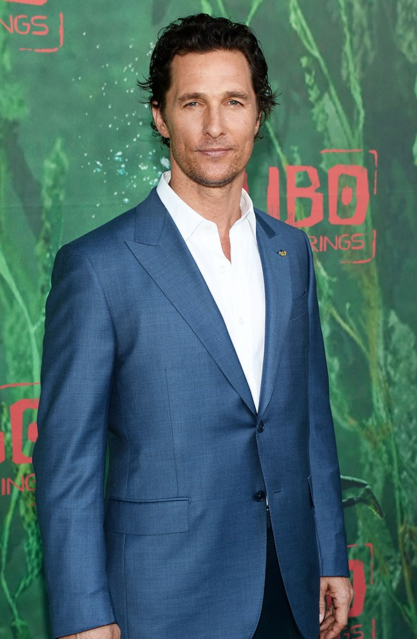 """<p><strong>Matthew McConaughey</strong> <p>""""It's the one thing I've always wanted to be,"""" Matthew McConaughey told <a href=""""http://www.eonline.com/au/news/590327/matthew-mcconaughey-on-fatherhood-it-s-the-one-thing-i-ve-always-wanted-to-be"""" target=""""_blank""""><em>GQ</em></a> about being a dad to Levi, Livingston and Vida. """"Never is a man more of a man than when he is the father of a newborn… You know what's important. I definitely got more selfish. And at the same time, I think I got more compassionate."""""""