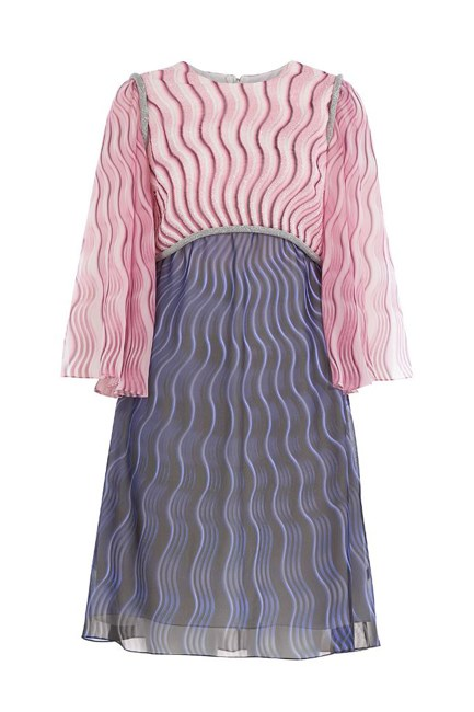 "Printed Silk Chiffon Dress With Bead Embellishment, approx. $2,886, <a href=""http://www.stylebop.com/au/product_details.php?id=696265"" target=""_blank"">Mary Katrantzou at stylebop.com</a>."