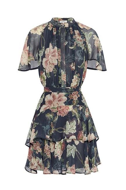 "Dahlia SS Mini Dress, $750, <a href=""http://www.theiconic.com.au/dahlia-ss-mini-dress-382158.html"" target=""_blank"">Lover at theiconic.com.au</a>."