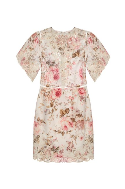 """Eden Floral-Print Cotton Dress, approx. $794, <a href=""""http://www.matchesfashion.com/products/Zimmermann-Eden-floral-print-cotton-dress-1051951"""" target=""""_blank"""">Zimmermann at matchesfashion.com</a>."""