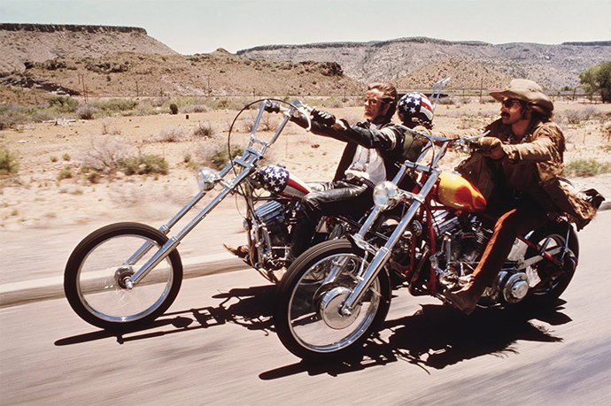"<strong>Easy Rider (1969):</strong> Repeat after us ""Born to be wiiiiiiiiiiildddddd!"""