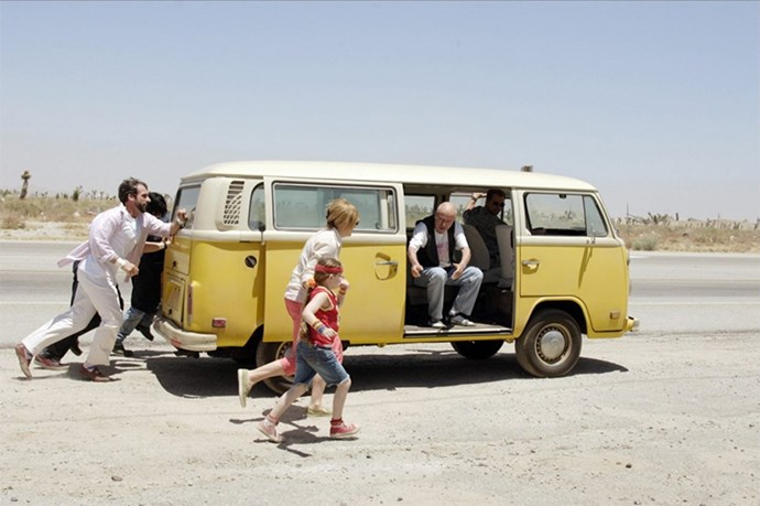<strong>Little Miss Sunshine (2006):</strong> A dysfunctional family crammed into a Kombi van. Enough said.