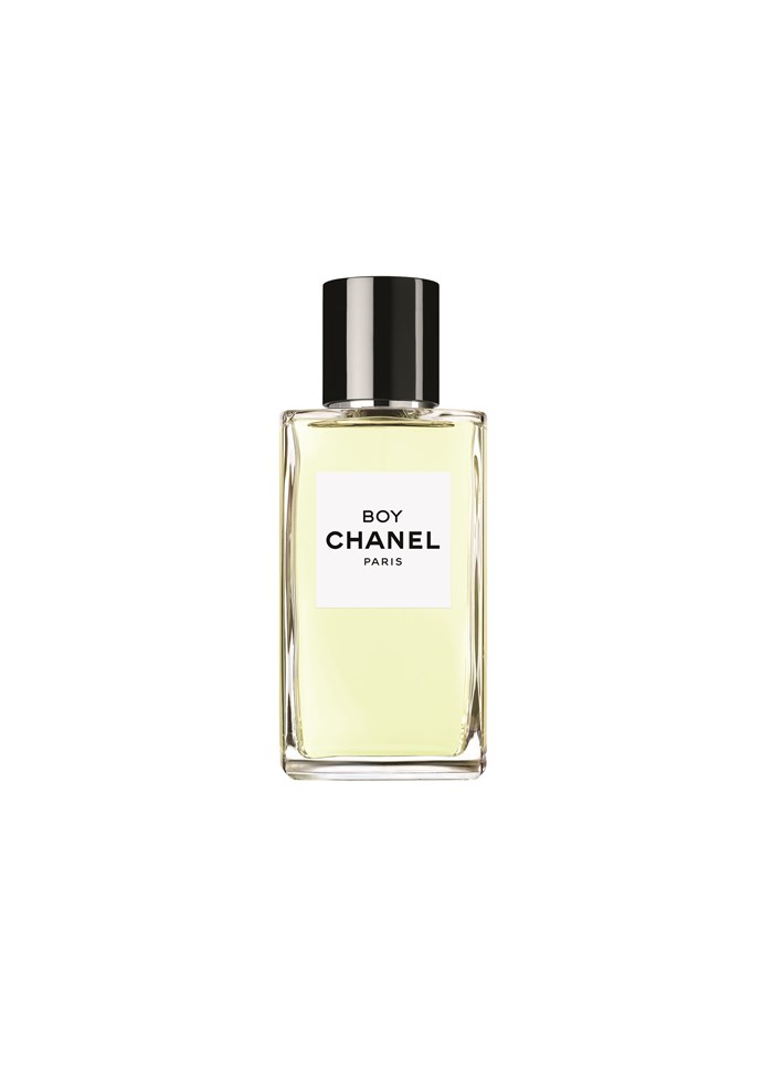 <p>Gabrielle Chanel was known for her ability to restyle menswear for women, and that's exactly what this fragrance represents. With traditionally masculine notes such as sandalwood and coumarin mixed back with rose geranium, lavender and citrus, Boy Chanel is for you or your significant other.</p> <p><em>Boy Chanel, $285 for 75ml, Chanel, (02) 9900 2944</em></p>