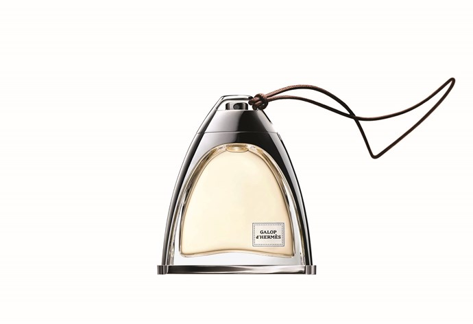 <p>With a super-cute bottle in the shape of a stirrup, Galop d'Hermès stays true to the brand's equestrian roots. Mixing calfskin leather and rose with just a hint of saffron, this is sophistication in a single spray.</p> <p><em>Galop d'Hermès, $275 for 50ml, Hermès, hermes.com</em></p>