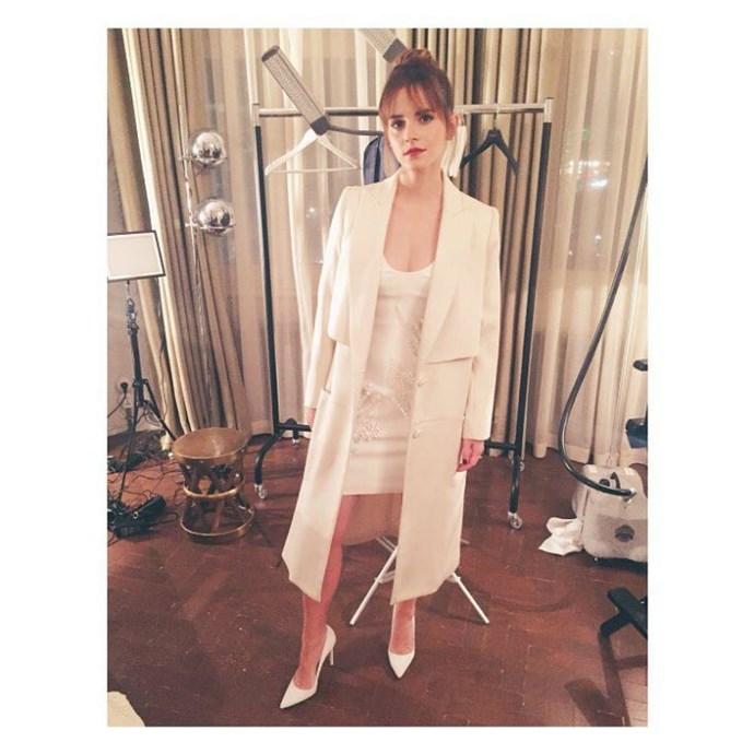 Emma Watson Stylist Sarah Slutsky