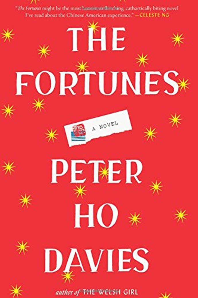 <p>'The Fortunes' by Peter Ho Davies<p> <p> The Fortunes crafts four tales that speak of the broader history of Chinese immigrants in the United States, from the hardworking valet who serves a white railroad mogul to Anna May Wong, the first Chinese-American movie star. Through these elegant, deeply embodied stories, Davies portrays the uneasy relationship between these people and their new country.