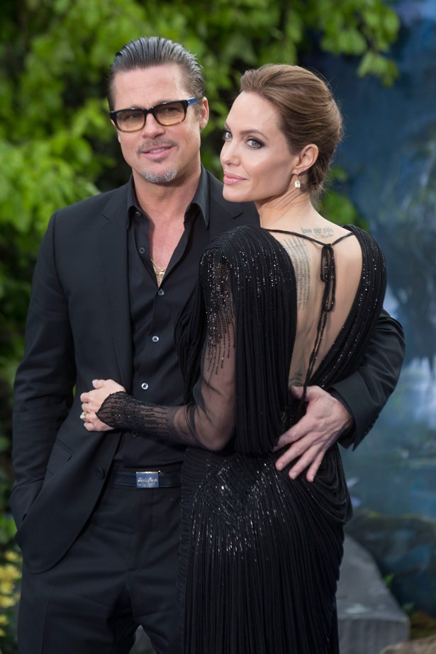 <p> Angelina Jolie, 41, and Brad Pitt, 52 (53 in December). <p> Difference: 12 years.