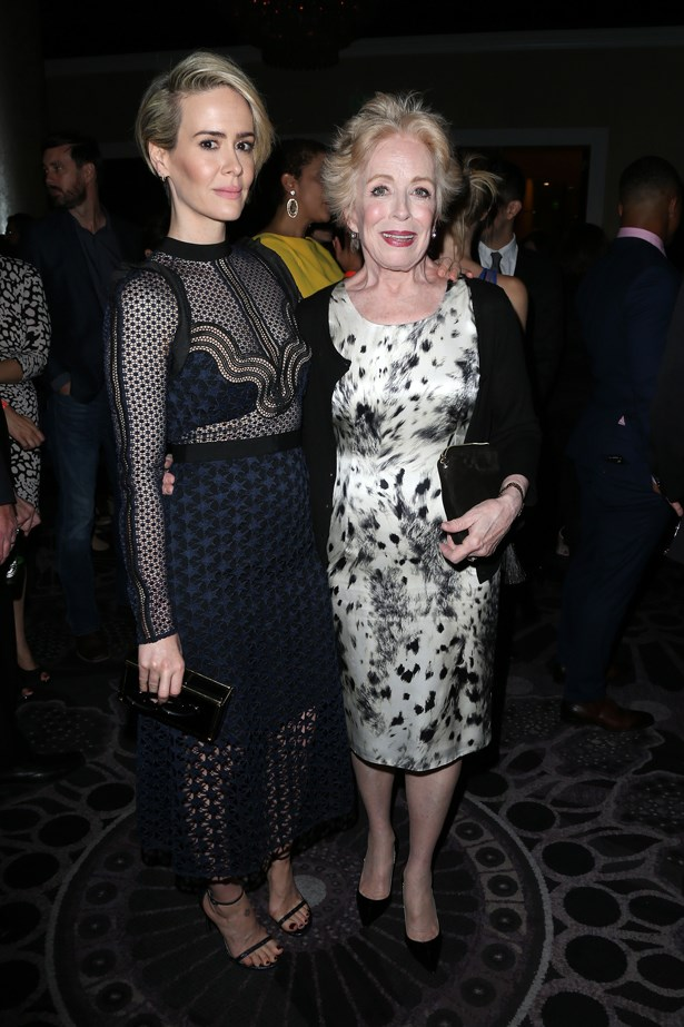 <p> Sarah Paulson, 41 (42 in December), and Holland Taylor, 73. <p> Difference: 31 years.
