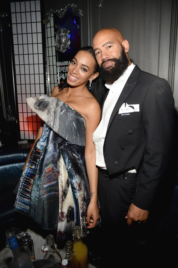 <p> Solange Knowles, 30, and Alan Ferguson, 53. <p> Difference: 23 years.