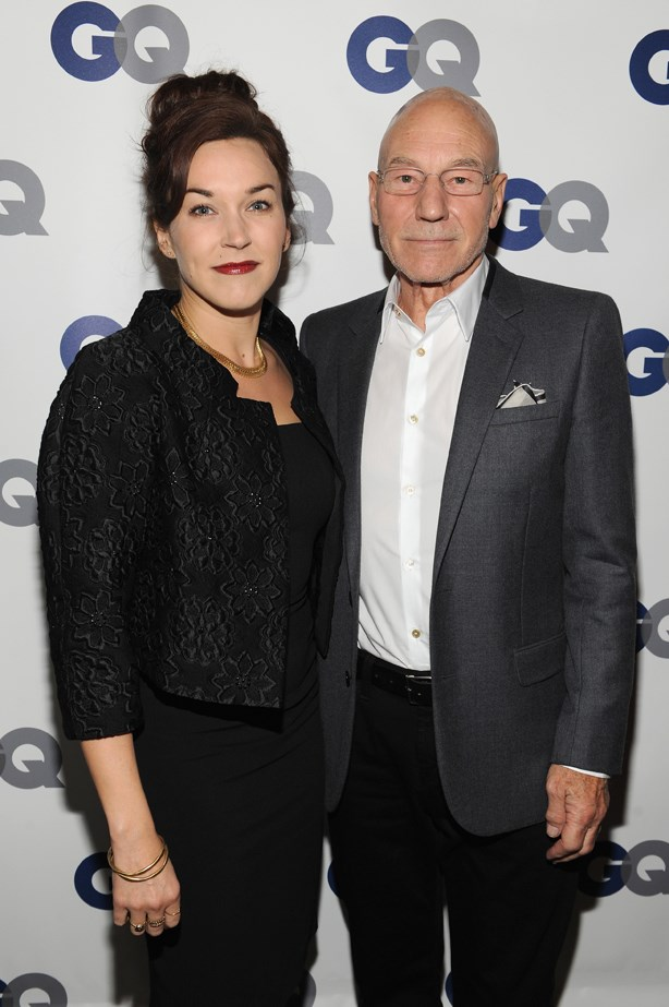 <p> Sunny Ozell, 37, and Patrick Stewart, 76. <p> Difference: 39 years.