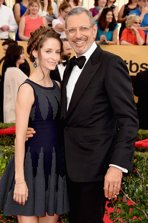 <p> Emilie Livingston, 33, and Jeff Goldblum, 63. <p> Difference: 30 years.