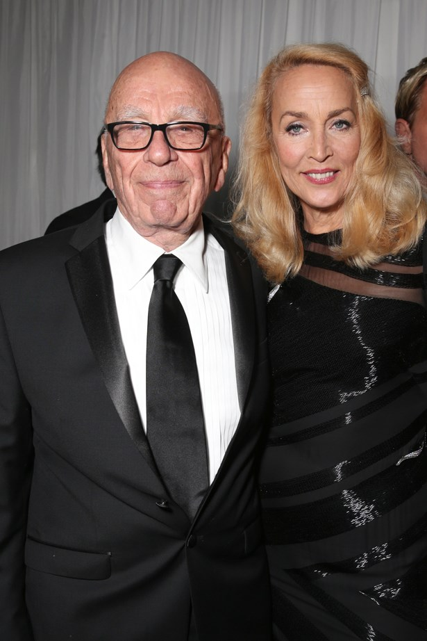 <p> Jerry Hall, 60, and Rupert Murdoch, 85. <p> Difference: 25 years.