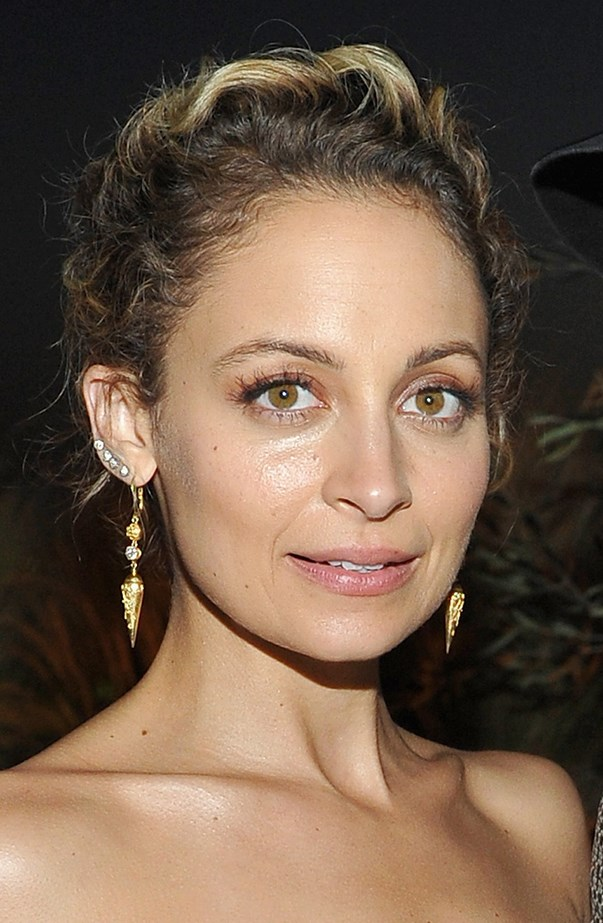 "<p>Nicole Richie has about four or five piercings going up both her ears. One of her episodes of <a href=""https://www.youtube.com/watch?v=28agt9J-hRA"" target=""_blank""><em>Candidly Nicole</em></a> was about getting her ears re-pierced, and she took her younger half-sister Sofia with her."