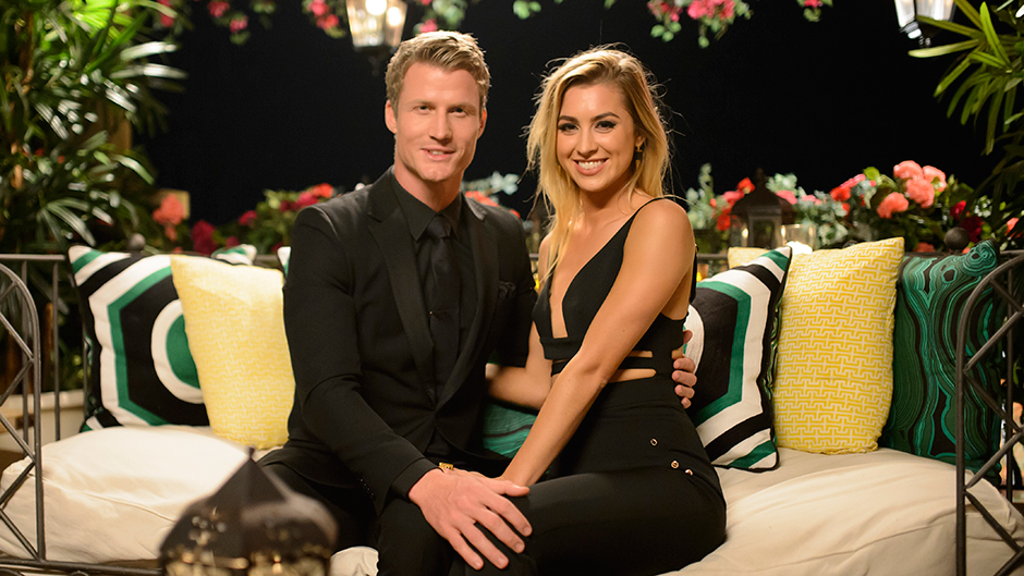 Richie Strahan and Alex Nation on The Bachelor Australia 2016
