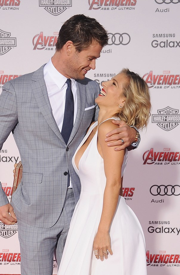 <p>Settle in for some very sweet quotes from Chris Hemsworth and Elsa Pataky about each other.