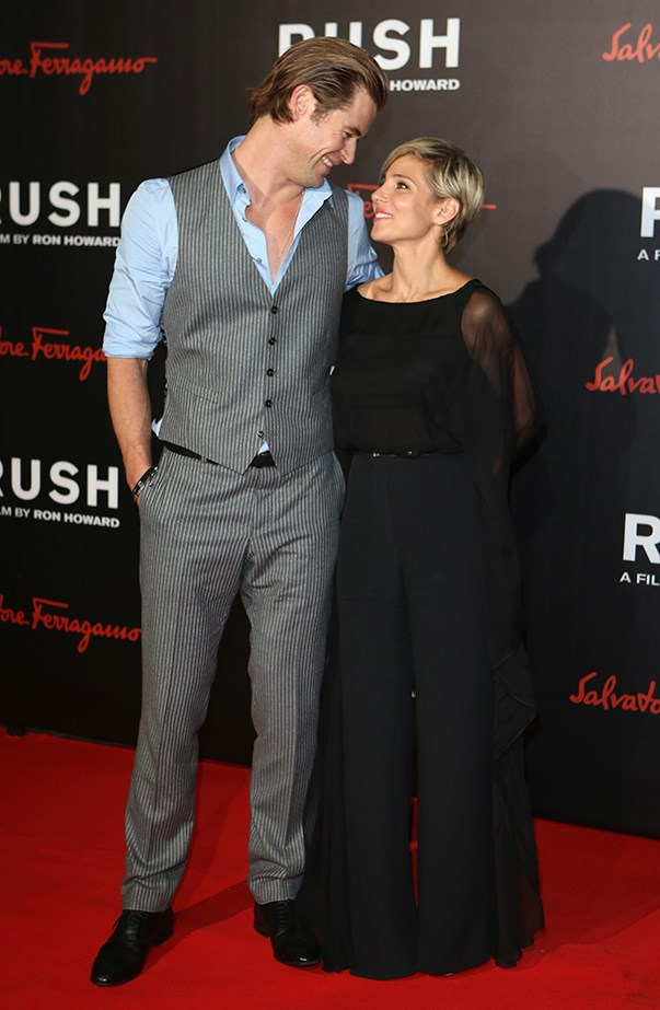 """<p>Chris fell even more in love with Elsa after she gave birth to their three kids. He told <a href=""""http://www.etonline.com/news/175962_chris_hemsworth_makes_all_the_ladies_swoon/"""" target=""""_blank""""><em>Who</em></a>, """"Watching her be a mother made me fall even more in love with her. Once we had kids we were like, 'We're in it, this is it.'"""" If that wasn't enough, he continued, """"All of a sudden I had a greater appreciation for my wife, she kind of came into her own when we had kids. She certainly keeps me sane. I complain about things, she gets on with it."""""""