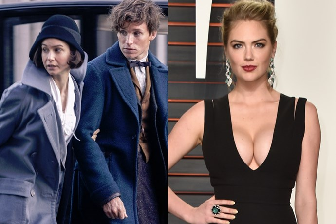 Proving that she is indeed chasing that actress career, Kate Upton was reportedly one of the final three option for the role of Porpentina in 'Fantasic Beasts and Where To Find Them', which eventually went to Katherine Waterston.