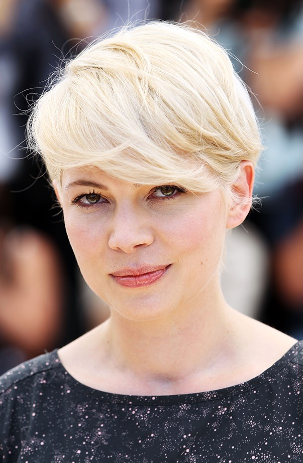 <p>Michelle Williams' platinum blonde moment at the Cannes Film Festival in 2010 has almost become an iconic beauty look. (She was promoting <em>Blue Valentine</em>.)