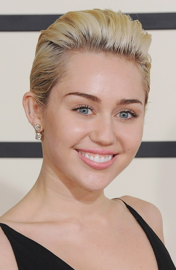 <p>Miley Cyrus went through a platinum phase when she wore her hair short.