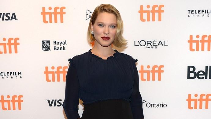 Lea Seydoux Pregnant Baby Bump at Toronto International Film Festival
