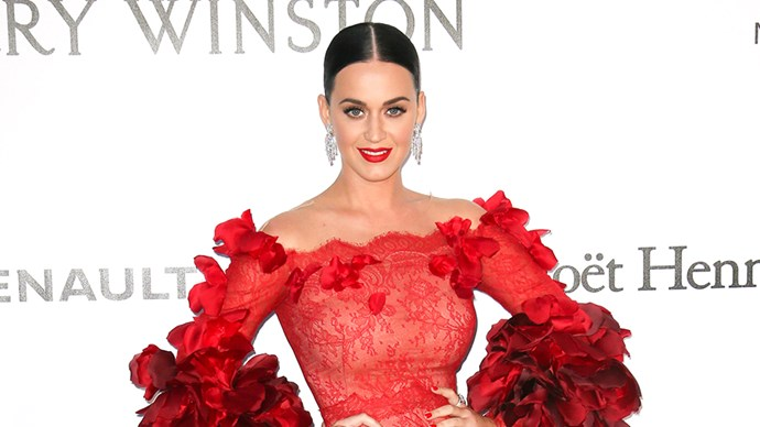 Katy Perry at 2016 amfAR Gala