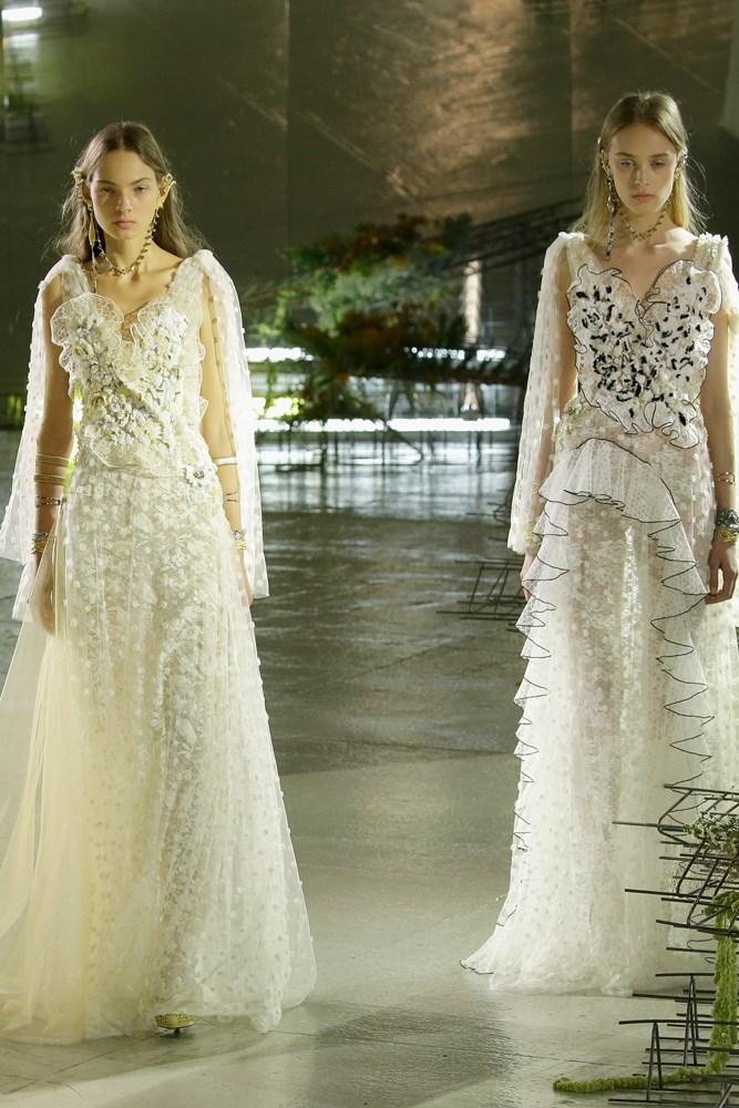 rodarte nyfw ss17 bridal looks