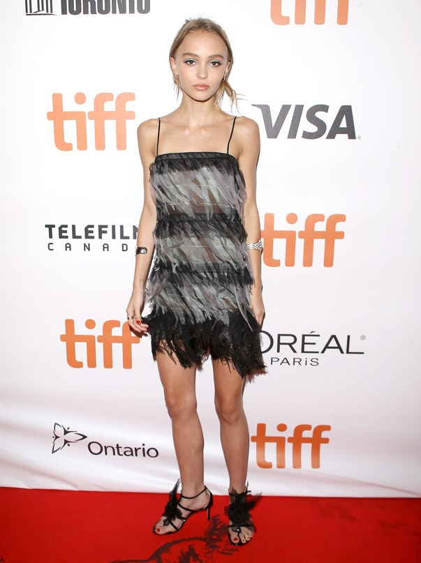 <p>Lily-Rose Depp.
