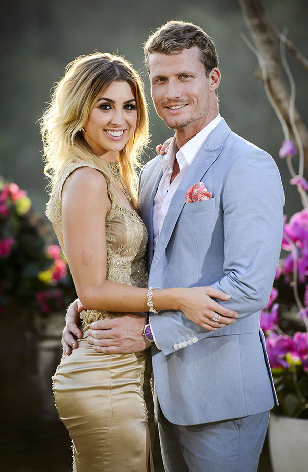 Alex Nation and Richie Strahan on The Bachelor Australia 2016