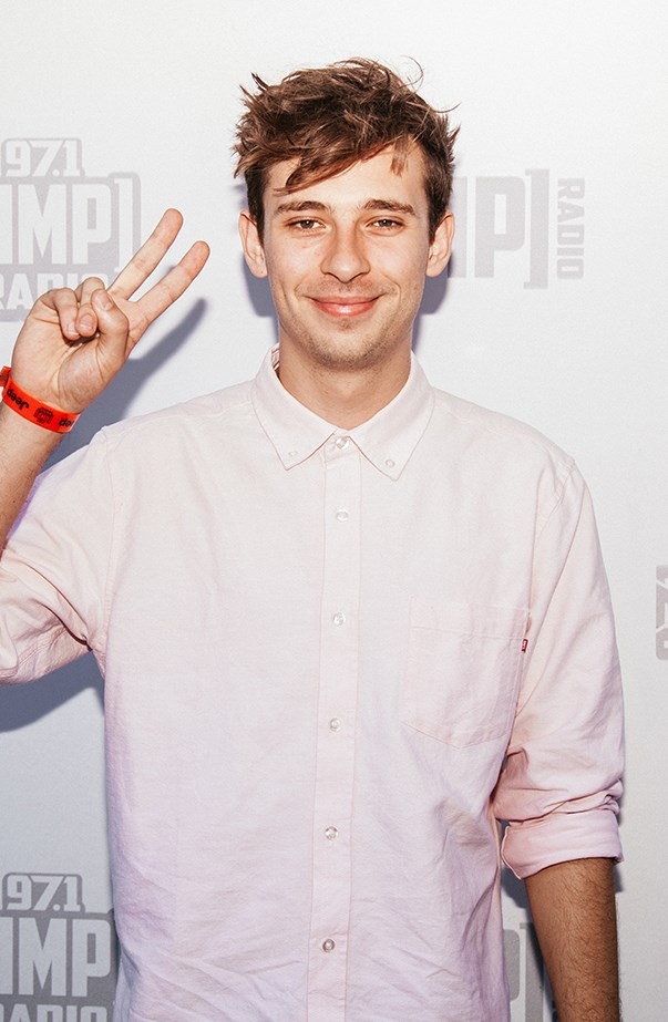 <p>Flume's real name is Harley Streten.