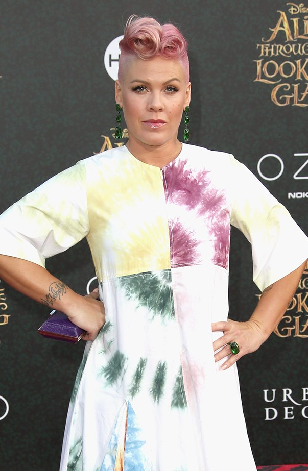 <p>Pink's real name is Alecia Moore.