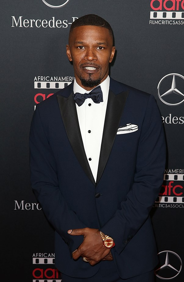 <p>Jamie Foxx's real name is Eric Marlon Bishop.